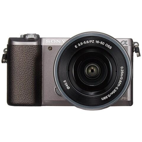 Sony a5100 16-50mm Mirrorless Digital Camera with 3-Inch Flip Up LCD (Brown) - International Model (No Warranty)