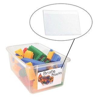 "Self-Adhesive Pocket Labels - 3"" x 5"" (Set of 25)"