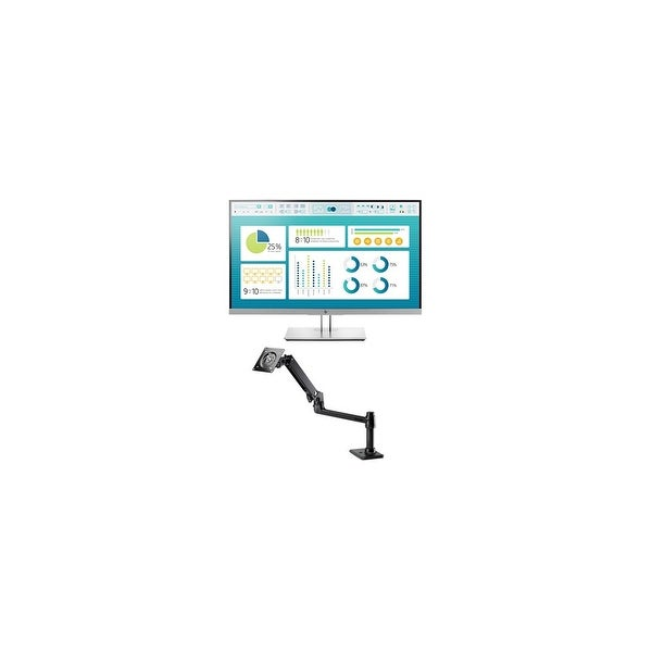 HP EliteDisplay E273 Monitor with Single Monitor Arm EliteDisplay E273 Monitor