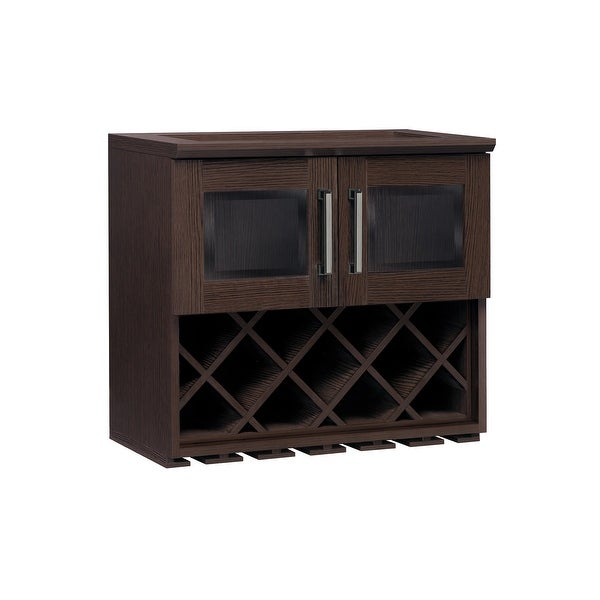 Shop Newage Products Home Bar Series Wall Wine Rack Free Shipping