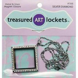 Silver Diamond - Jewelry Locket