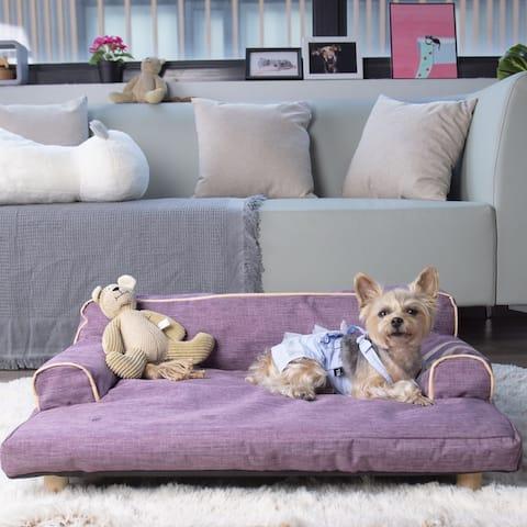 K1 Dog Sofa Wickman - Violet