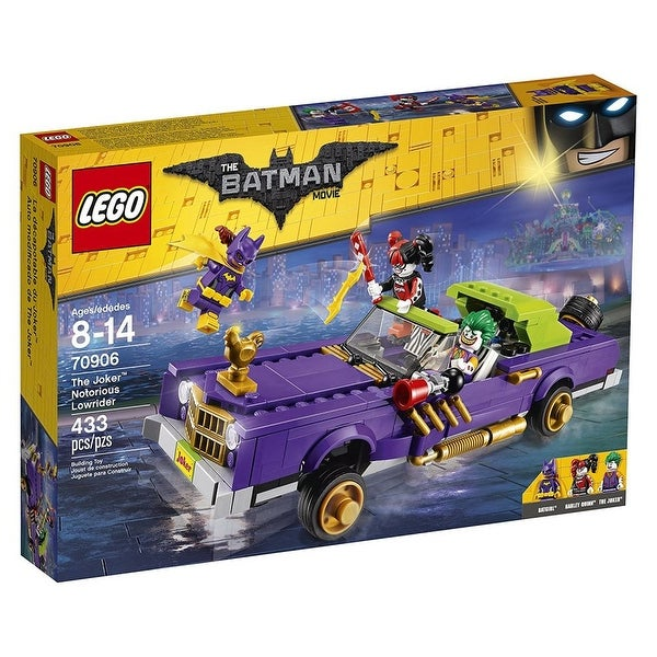 Lego The Batman Movie The Joker Notorious Lowrider Building Set 70906 - Multi
