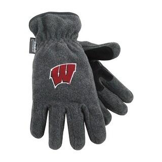 University of Wisconsin Heavy-Weight Fleece Gloves
