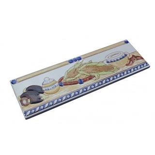 3 x 10 Listello Tile Border Liner Harvest Ceramic