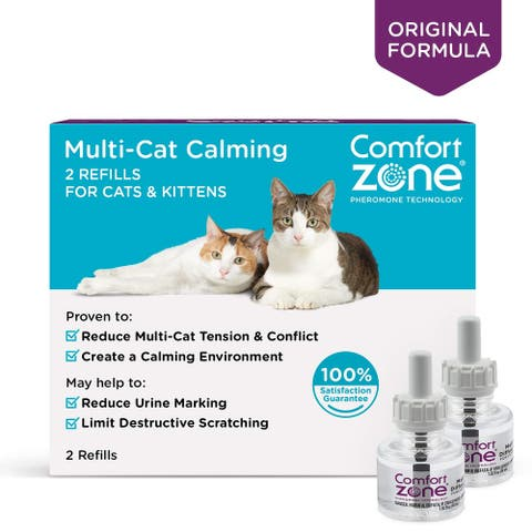 Comfort Zone Cat Multicat Refill 2 pack - 2 refills