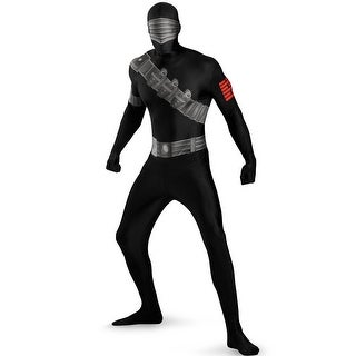Disguise Skinovations Snake Eyes Bodysuit Child Costume - Black