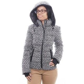 Andrew Marc Women Hypoallergenic Zipper Puffer Jacket Puffer BLW