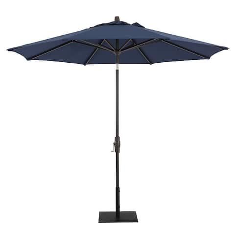 Patio Umbrella - Sunbrella - 9' Round - Midnight - Spectrum Indigo