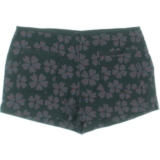 Rachel Rachel Roy Womens Printed Patch-Pocket Shorts - 8