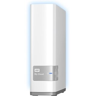 WD WDBCTL0030HWT-NESN WD My Cloud 3TB personal cloud storage (NAS) - Dual-core (2 Core) - 3 TB HDD - Gigabit Ethernet - Network
