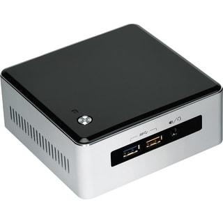 Intel BOXNUC5I7RYH Intel NUC5I7RYH Desktop Computer - Intel Core i7 i7-5557U 3.10 GHz - Mini PC - Silver, Black - DDR3L SDRAM