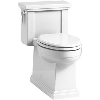Kohler K-3981 Tresham 1.28 GPF Elongated One-Piece Comfort Height Toilet with AquaPiston Technology - Seat Included