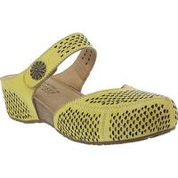 L'Artiste by Spring Step Women's Spoorti Clog Yellow Leather