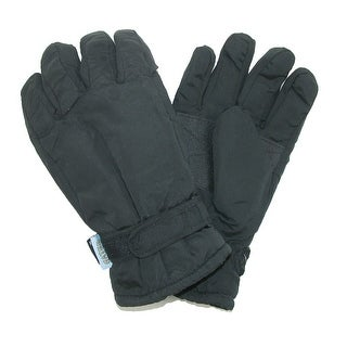 CTM® Men's Waterproof Thinsulate and Fleece Lined Ski Gloves