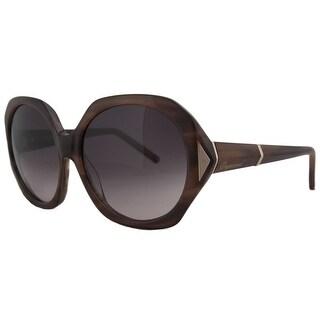 DSquared DQ 0111 45T Tortoise Round Full Rim Sunglasses - 57mm-15mm-135mm