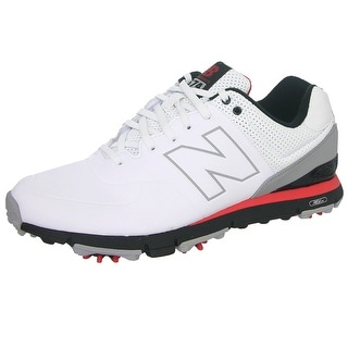 New Balance NBG574 Men's Leather Golf Shoes (Option: 15)