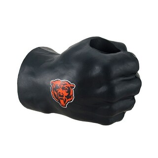 Chicago Bears Fan Fist Oversized Foam Fist Drink Holder - Black