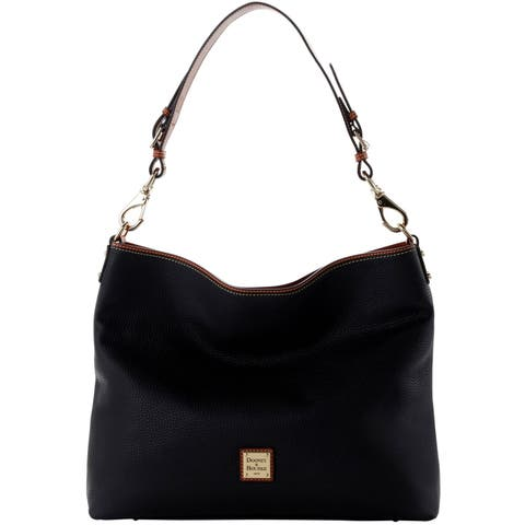 a2a355e996dd Dooney & Bourke Pebble Grain Extra Large Courtney Sac Shoulder Bag  (Introduced by Dooney &