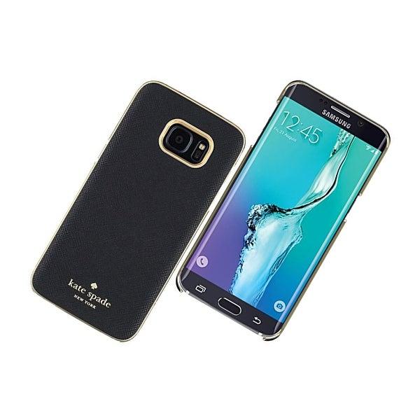 best cheap 79c90 548c6 Shop Kate Spade New York Wrap Case for Samsung Galaxy S7 Edge (Black ...