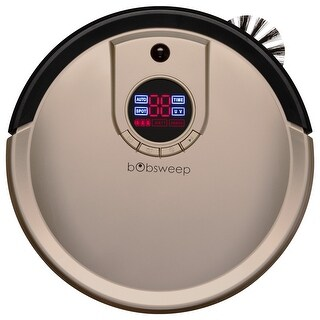 bObsweep bObsweep Standard Robotic Vacuum Cleaner and Mop (Champagne) from | Daily Mail