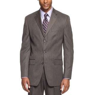 Sean John Sportcoat 40 Regular 40R Steel Gray 3-Button Suit-Separate Blazer
