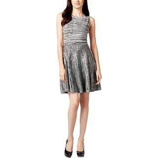 Jessica Simpson Womens Casual Dress Sleeveless Printed - xs