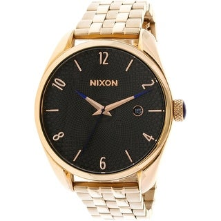 Nixon Women's Bullet A4182046 Rose-Gold Stainless-Steel Fashion Watch
