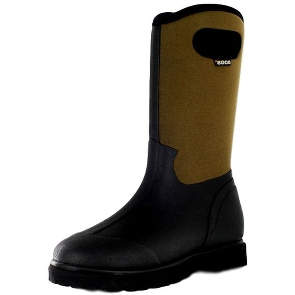 """Bogs Boots Mens 13"""" Roper Farm Rubber Insulated Waterproof"""