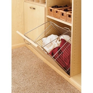 "Rev-A-Shelf CTOHB-161319-52 CTOHB Series 16"" Wide Closet Tilt Out Hamper Basket"