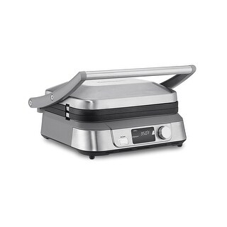 Cuisinart GR-5B Griddler Five Electric Griddle, Silver
