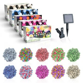 Link to Solar Powered 125 LED String Light - Multiple Color Options Similar Items in String Lights