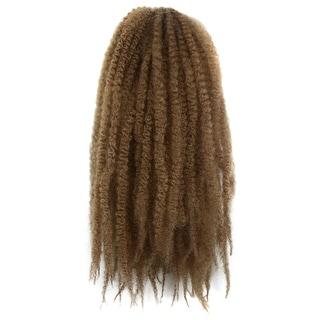 Negro Caterpillar Wig Braid Fluffy Afro Hair Extension 27#