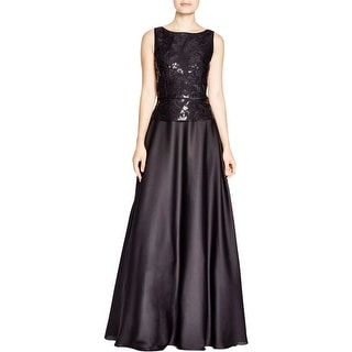 Aidan Mattox Womens Semi-Formal Dress Embellished Prom