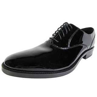 Cole Haan Men Madison Plain Oxford II Patent Leather Shoe