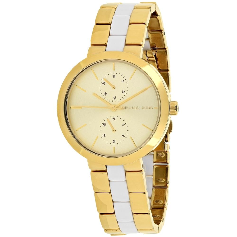 Michael Kors Womens Garner MK6472 Gold Dial watch