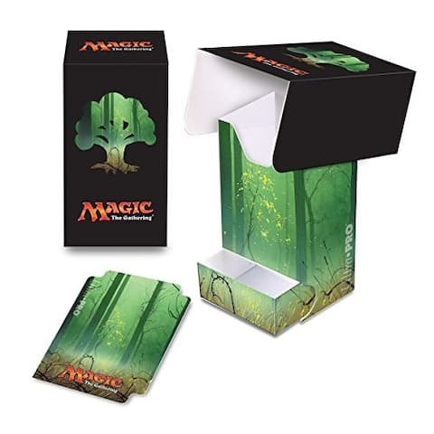 Ultra Pro Mana 5 Unhinged Forest Full View Deck Box with Tray for Magic