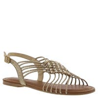 Not Rated Womens Cielo Open Toe Casual Ankle Strap Sandals