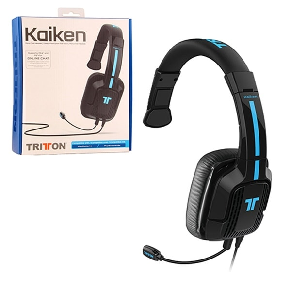 Tritton PlayStation 4 Kaiken Mono Chat Wired Headset for Sony PlayStation 4/ PS Vita