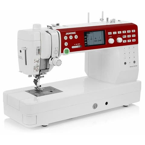 """Janome Memory Craft 6650 Computerized Sewing Machine w/ 3.6"""" Backlit LCD Screen + Free Shipping!"""