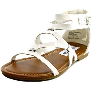 Steve Madden Comma Open Toe Synthetic Gladiator Sandal
