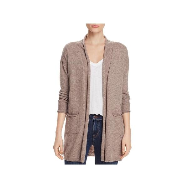 Sundry Womens Juniors Cardigan Sweater Wool Blend Open-Front - 3