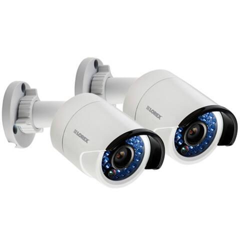 Refurbished Lorex LNB51PK2B 1080p Full HD NVR IP Security Camera - Black