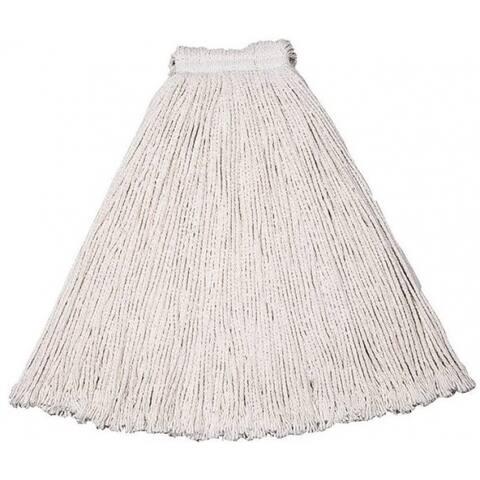 Rubbermaid V11700WH00 Cut End Economy Wet Mop Head, #20, Cotton