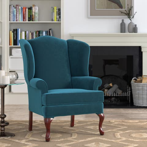 Estella Wingback Accent Chair by Greyson Living - See Product Description - See Product Description