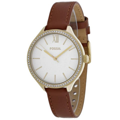 Fossil Women's Laney White Dial Watch - BQ3407 - One Size