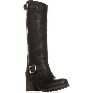 FRYE Vera Slouch Knee-High Boots, Black