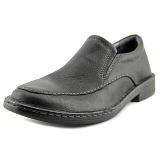 Clarks Kyros Free Men Round Toe Leather Black Loafer