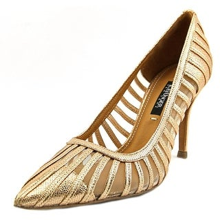 Kay Unger Kaeden W Pointed Toe Leather Heels
