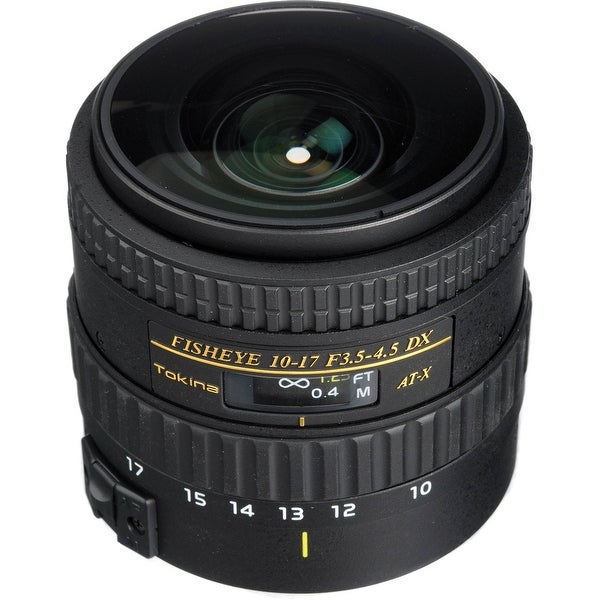 Tokina AT-X 107 AF NH Fisheye 10-17mm f/3.5-4.5 Lens for Canon ATX107